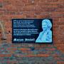Gedenktafel für Marion Dönhoff in Friedrichstein - Kamenka, Ostpreussen, Russland, Kaliningrad (2013) 1