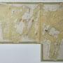 Kirna - Kirna, Estland (2018), Alte Karte zum Gut Kirna im Herrenhaus von 1800