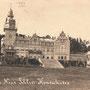 Schloss Kokenhusen - Koknese noch unzerstört, Livland - Lettland (um 1914)