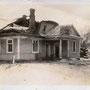 Potschepowo - Pacapava, Minsk - Belarus (1916), beschädigtes Herrenhaus