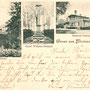 Medenau - Logwino, Ostpreussen - Russland - Kaliningrad (um 1903)