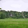 Anhöhe des Schlosses Kokenhusen - Koknese, Livland, Lettland (2016)