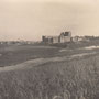 Ruine der Ordensburg Bauske - Bauska, Kurland, Lettland (um 1915)