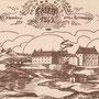 Ordensburg Grobin . Grobina, Kurland - Lettland (um 1269)