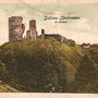 Ruine Burg Neuhausen - Vastseliina, Livland - Estland (um 1917)