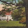 Steinort - Stynort, Ostpreussen - Polen (um 1915), Parkseite
