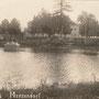 Märzendorf, Merzendorf - Mercendarbe, Kurland - Lettland (historische Ansicht), Parkseite