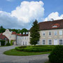 Gallingen - Galiny, Ostpreussen - Polen (2016), Innenhof und Haupthaus