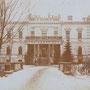 Lyntupy Byschewsky-Palast (historische Aufnahme im 1. WK)