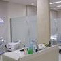 治療室も広々としたスペース