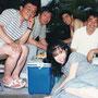 メンバーと海へ(1988.8.12)