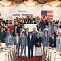 サクセスパワー福岡は下野社長のもと、売上日本一を9年連続、世界一を7年連続で達成した素晴らしい代理店です(現在は上射場社長)。