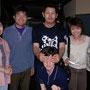 翌日、豊後高田での上映会後の懇親会にて2