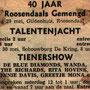 Talentenjacht en Tienershow op 29 en 30 mei 1965
