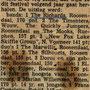 Krantenartikel uitslag teenager festival op 01-06-1963 in  Steenbergen