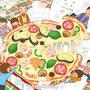 ジャンボまちがい絵さがしパル 2012年 12月号/隠し絵(英和出版社)