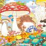 ジャンボまちがい絵さがしパル 2012年 10月号/隠し絵(英和出版社)