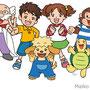 小学ポピー キャラクター(全家研)