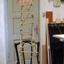 Gerüst aus Bambus
