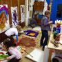Malwerkstatt Atelieransicht