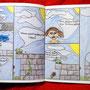"""Comicsbuch, Seite aus """"Der Froschkönig"""""""