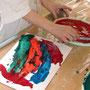 Malen mit Spachtel