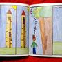 "Comicsbuch, Seite aus ""Rapunzel"""