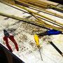 Materialien und Werkzeug