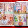 """Comicsbuch, Seite aus """"Die drei Bären"""""""