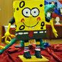 Papiermaché Sponge Bob