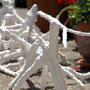 Astskulpturen aus Gips