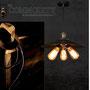 lampada ottone edison vintage