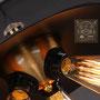 lampadario industriale stile vintage