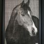 Cheval#2 122 x 95 cm  Pièce unique  Disponible Gallery27 Dubaï