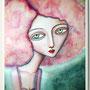 CLOUDINE. Acrílico y óleo sobre tabla.38 x 32. 150€. Vendido.