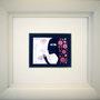 BRISA. Disponible. Acuarela y tinta sobre papel. 6x7,5cm (24x22cm marco). 40€