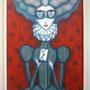 LADY MISIVA. Acrílico sobre tela montado sobre tabla. 73cm x 62cm. 250€. Vendido..