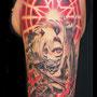 タトゥー 腕 悪魔 かわいい 星 マイク デビル
