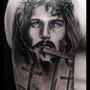 タトゥー B&G キリスト 十字架