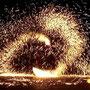 Feuerwerks Tanz Kunst