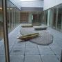 キャノン研修センター 屋上庭園 木+アルミキャスト+苔