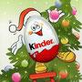 Eiermann mit Weihnachtsbaum