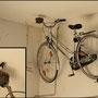 Mit einer Radtour ist es grad schwierig. Die Schwalben sind offenbar auf's Rad gekommen