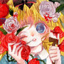 「薔薇と赤ペンキ」