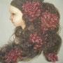 巣つくり     2008   410×410     oil on canvas