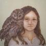 めのあるかみかざり     2008   455×455     oil on canvas