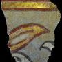 Echantillon BDX 11883. Fouilles de l'Ak Saray de 1996.  Conservé au Musée Amir Temur de Shahrisabz (photo : C.Ollagnier, 2008)
