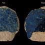 Echantillon 592/15. Fouilles de l'Ak Saray de 1996.  Conservé au Musée Amir Temur de Shahrisabz (photo : C.Ollagnier, 2008)