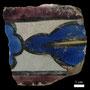 Echantillon BDX 11860. Fouilles de l'Ak Saray de 1996.  Conservé au Musée Amir Temur de Shahrisabz (photo : C.Ollagnier, 2008)
