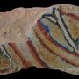 Echantillon BDX 11872. Fouilles de l'Ak Saray de 1996.  Conservé au Musée Amir Temur de Shahrisabz (photo : C.Ollagnier, 2008)